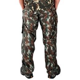 Calça Camuflada Masculina Atacado Militar Adulto com Elástico