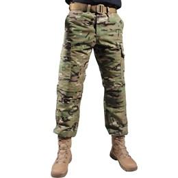 Calça Masculina Tática Bélica Combat Multicam
