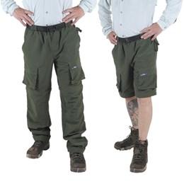 Calça Vira Bermuda Masculina com Proteção UV UFP 50+ King Brasil Artemis Musgo