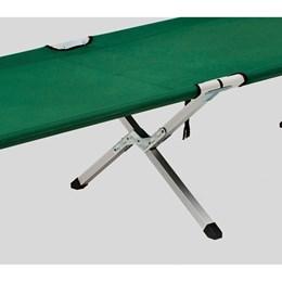 Cama Dobrável em Alumínio Campana Jungle Suporta até 120 kg - Guepardo FA0400