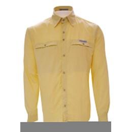 Camisa Masculina Guepardo Trek Fish Amarelo