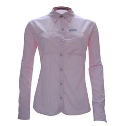 Camisa Trek Fish Feminina Rosa Guepardo