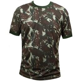Camiseta Camuflada Delta Padrão Exército Brasileiro Dry Fit