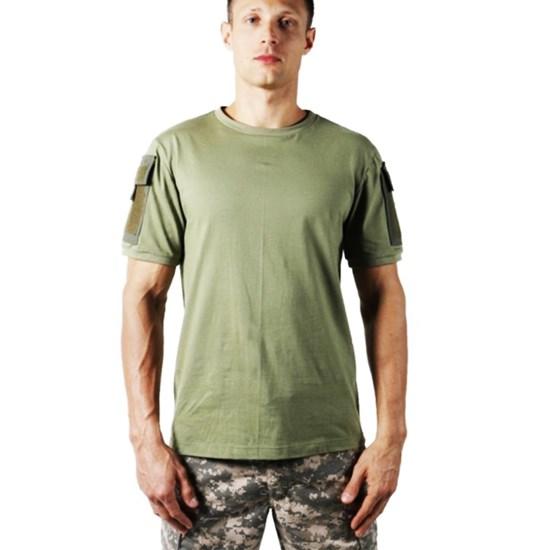 Camiseta Masculina Bélica Ranger Verde Airsoft