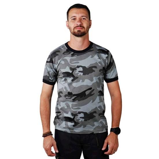 Camiseta Masculina Elite Comandos CMF ELITE Camuflada CMF URB