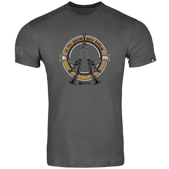 Camiseta Masculina INVICTUS Concept Bellum4 Cinza