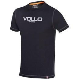 Camiseta Masculina VOLLO Preta Dry Fit
