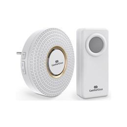 Campainha Sem Fio Wireless Bivolt ComfortDoor Branca