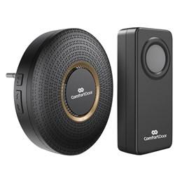 Campainha Sem Fio Wireless Bivolt ComfortDoor Preto