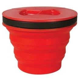 Caneca Colapsável X-Seal & Go Medium 415ml Vermelho