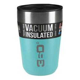 Caneca Térmica 360 Degrees Travel Mug Regular Isolamento a Vácuo 355ml Azul Claro