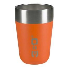 Caneca Térmica 360 Degrees Travel Mug Regular Isolamento a Vácuo 355ml Laranja