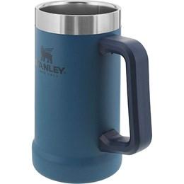 Caneca Térmica de Cerveja Stanley 709 ml até 5 Horas Gelado Azul