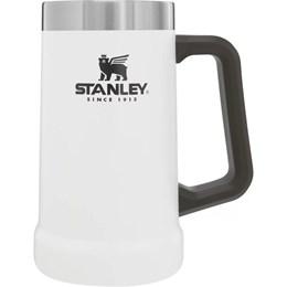 Caneca Térmica de Cerveja Stanley 709 ml até 5 Horas Gelado Branca