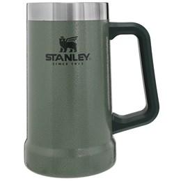 Caneca Térmica de Cerveja Stanley 709 ml + Copo Térmico 473 ml com Tampa Classic