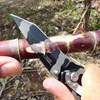 Canivete Aura Nautika com Lâmina de Aço Inox e Trava de Segurança