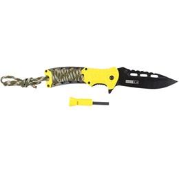 Canivete com Corda de Sobrevivência AZTEQ Xisco