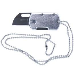 Canivete Nautika Dog Cut Lâmina em Aço Inoxidável 420 com Trava de Segurança