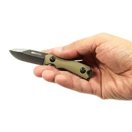 Canivete Tático Coyote com Cordão Removível e Bainha Nautika