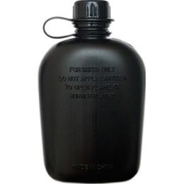 Cantil de Plástico 0,9 Litros com Capa Isolante de Algodão Passante Para Cinto - Nautika