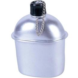 Cantil Tático 900 Ml em Alumínio Nautika 301210 Preto com Capa