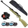 Carabina de Pressão CBC Jade Mais + Red Dot CBC 1 x 30 + Capa 1,25m + 250 Chumbinhos 5.5mm Snyper
