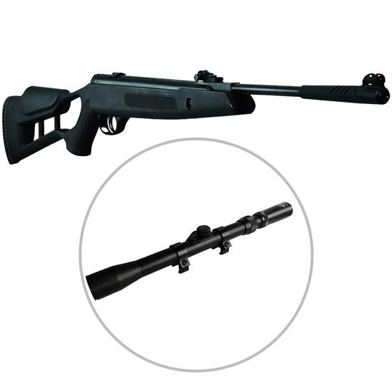 Carabina de Pressão Striker Edge 5.5mm com Luneta Snauzer Scope 3-7x20