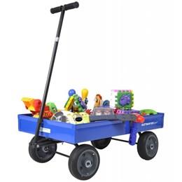 Carrinho de Puxar Americano Infantil Azul - Altmayer AL-40