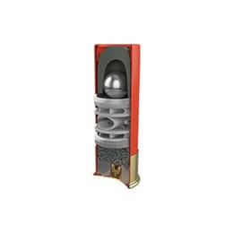 Cartucho CBC Calibre 12/70 Knock Steel Balote + Aço Caixa com 25 Unidades