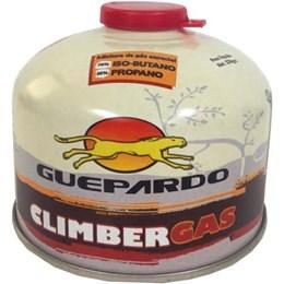 Cartucho de Gás 230g 1 Unidade com Válvula de Segurança Guepardo Climber