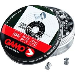 Chumbinho 4.5mm Gamo Match Diabolô com 250 unidades