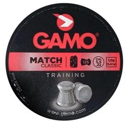 Chumbinho Gamo Match Diabolo 125 Unidades Calibre 5.5mm