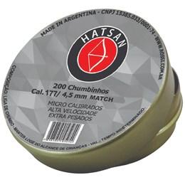 Chumbinho Hatsan Match 4,5mm com 200 Unidades
