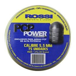 Chumbinho ROSSI PCP Power 5.5mm 75 Unidades para Carabinas