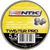 Chumbinho Twister Tático 5,5mm 125 Unidades Nautika