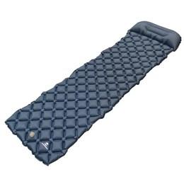 Colchonete Inflável Guepardo Dott Azul com Travesseiro Imbutido