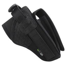 Coldre de Cintura Destro Cia Militar PM Longo com Porta Carregador CM0012