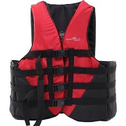 Colete Náutico para Esportes Aquáticos Coast até 100Kg Vermelho - Nautika