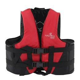 Colete Náutico para Esportes Aquáticos Coast até 10Kg Vermelho - Nautika