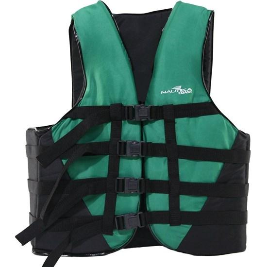 Colete Náutico para Esportes Aquáticos Coast até 120Kg Verde - Nautika