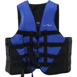 Colete Náutico para Esportes Aquáticos Coast até 130Kg Azul - Nautika