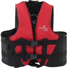 Colete Náutico para Esportes Aquáticos Coast até 20Kg Vermelho - Nautika