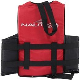 Colete Náutico para Esportes Aquáticos Coast até 30Kg Vermelho - Nautika