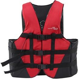 Colete Náutico para Esportes Aquáticos Coast até 50Kg Vermelho - Nautika