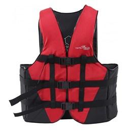 Colete Náutico para Esportes Aquáticos Coast até 60Kg Vermelho - Nautika