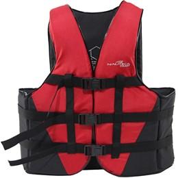 Colete Náutico para Esportes Aquáticos Coast até 80Kg Vermelho - Nautika