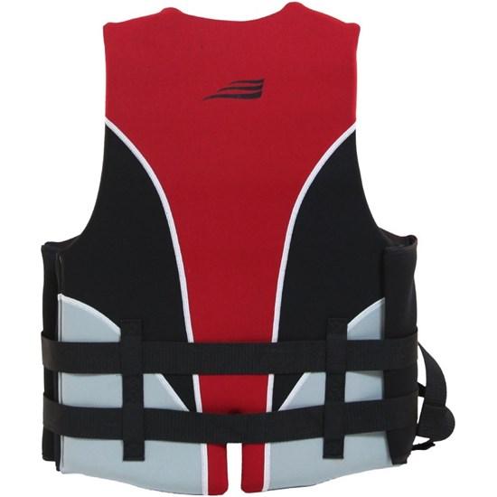 Colete Náutico para Esportes Aquáticos Ventura até 80Kg Vermelho - Nautika