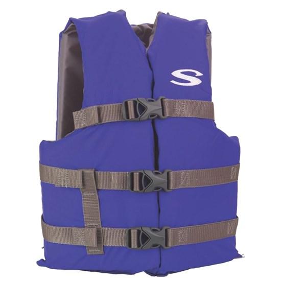 Colete Salva-Vidas Flutuante até 41 Kg Boating Juvenil Azul Stearns