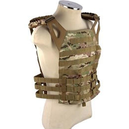 Colete Tático Airsoft Modular MOLLE EVO Tactical CT-0141 Plate Multicam