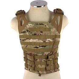 Colete Tático Modular MOLLE EVO Tactical CT-0141 Plate Multicam